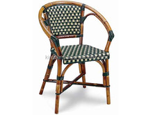 French Bistro Rattan Chairs Coffee Shop imitated Bamboo Chair