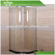 HOT!JR-8416 Direct Price High Quality Professional Design Aluminium Profile Glass Frame Pivot Shower Room