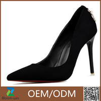 2016 new lovely brand name high heel shoes lady popular