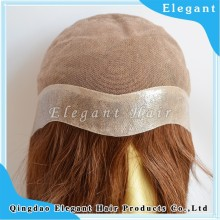 wholesale first class pure silky straight silk top lace wig top quality mogolian hair virgin jewish/Kosher wig