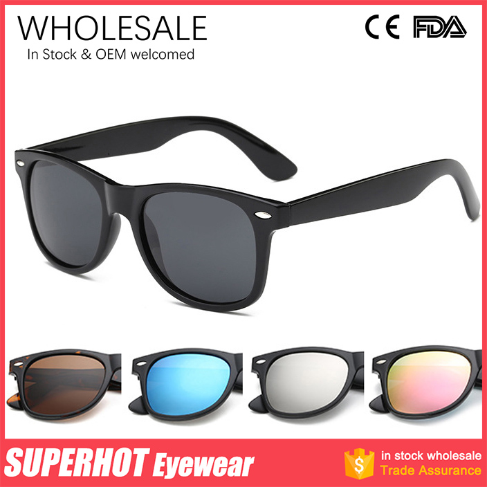 Classic TAC Polarized Sunglasses REVO Lenses UV400 Custom Logo In Stock Wholesale China