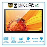 14 inch Indoor Application and TFT Type lcd advertising screens