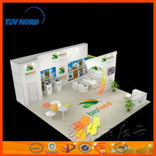 Custom versatile exhibition system booth design indoor exhibition led display