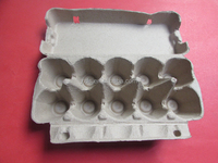New Eco-friendly Pulp Egg Tray 10 Eggs Paper Cartons
