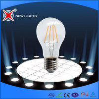 Long serve life high lumen 4W led filament bulb e27