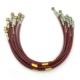 durable vehicle brake performance Stainless Steel Braided Brake Lines with DOT Approved