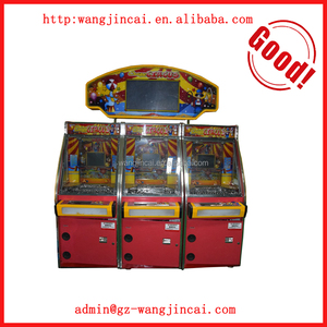 coin operated prize arcade gaming machines crazy circus simulator pusher token video game machine