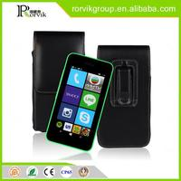2015 Best Selling cheap leather cell mobile phone case for NOKIA Lumia530 mobile phone accessory