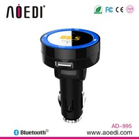 bluetooth wireless function car fm transmitter line out function