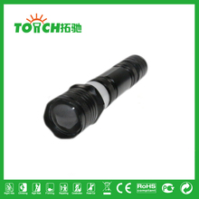 high power tactical flashlight 3 modes XPE LED 2000lm zoomable flashlight