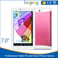 7 inch Phone call function tablet pc wifi without camera