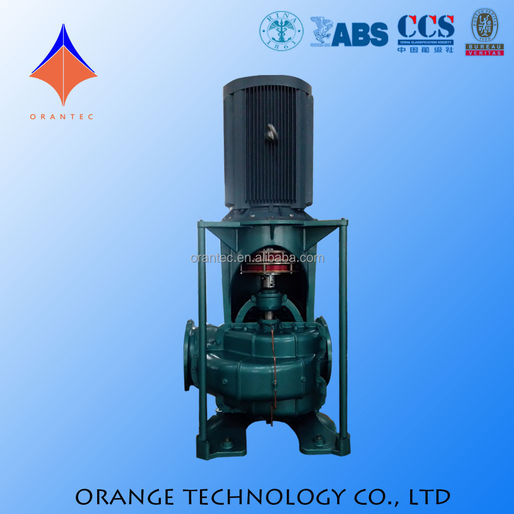 High Performance Detailed Specification of Centrifugal Pump for Water