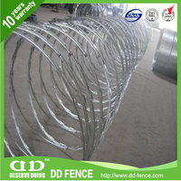 cross razor barbed wire / galvanized wire for grape trellis / galvanized welded wire mesh