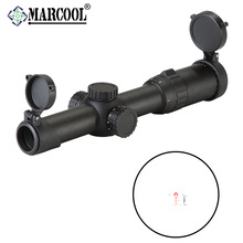 the china hunting accessories for pcp air gun rifle 1-6X24 military rifle scopes