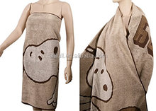 "wholesale towels 100% Cotton Cute Snoopy Bath Beach Towel, Brown,larger Size 71""x30"" - Extra Soft & Absorbent Towels"