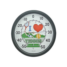 Analog type round shaped Wall Thermometer analog temperature indicator