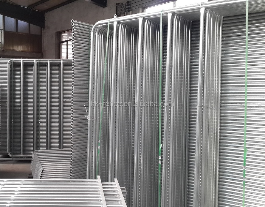 PVC or galvanized steel stocked cattle yard panel / horsed round yard panels / sheep yard panels and matched gate