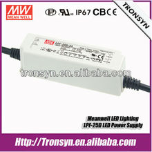 Meanwell Power Supply LPF-25D-36 Waterproof Electronic LED Driver 25W 36V 0.7A Support Dimmable and PFC