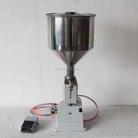 Pneumatic Filling Machine Paste Liquid Amphibious