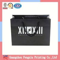 Any Picture Guangdong Advertising 2013 Hot Sale Paper Gift Bag
