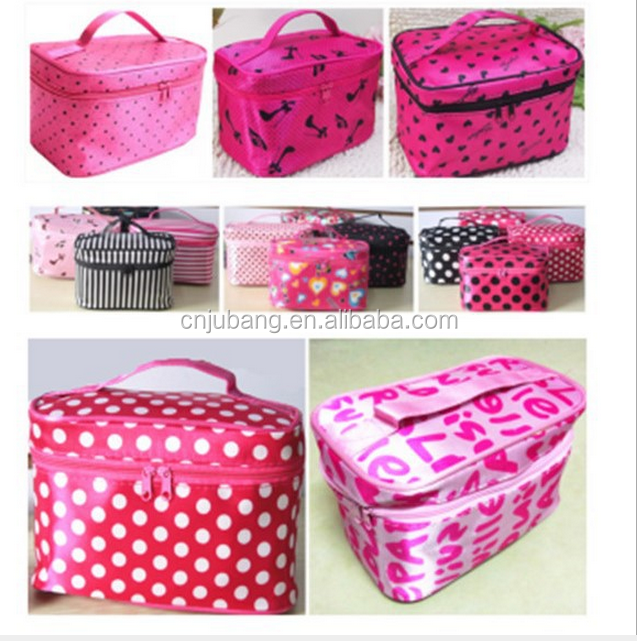 Portable Cosmetic Storage Makeup Bag / Travel Case Nail Polish Holder / cosmetic makeup bags