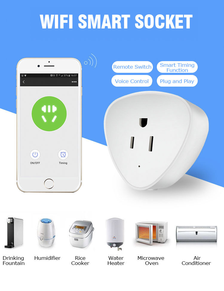 APP remote control smart socket for water dispenser