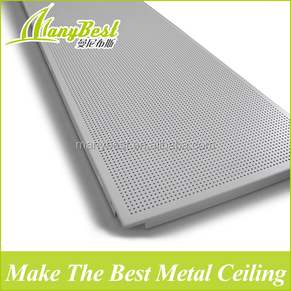 Quality Assured Metal flexible acoustic ceiling panel