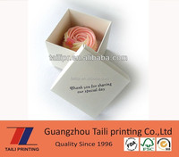 Wholesale custom printed cardboard cupcake boxes