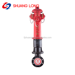 cast iron China 2 way fire hydrant dn100