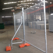 Strong removable temporary square wire fence for housing