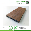 24mm hollow co-extrusion wood plastic composite deck flooring