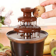 China Best selling home three-tier chocolate fountain