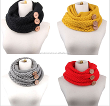 wholesale fashion acrylic cabke knitting christmas winter girl scarf