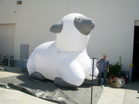 2015 Hot sale Giant inflatable sheep, inflatable goat, inflatable billy for advertising