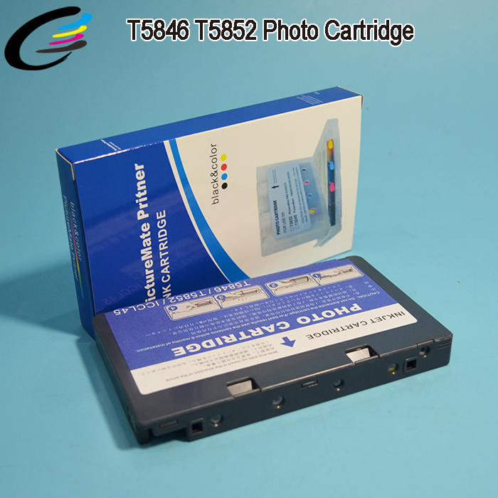 High Quality PictureMate Ink Cartridge T5846 T5852 for Epson PM225 Printer