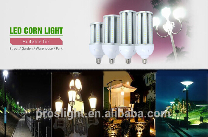 IP64 led e40 bulb,24w corn led lamp 360 degree led corn light