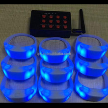 xyloband led controller bracelet ,remote controlled led bracelet control dmx for party, wedding, event,concert and so on