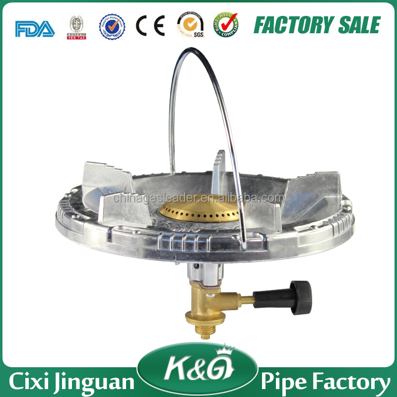 CIXI JINGUAN outdoor camping portable gas stove, LPG travel cooker good equipment gas burner stove in Kenya, Nigeria