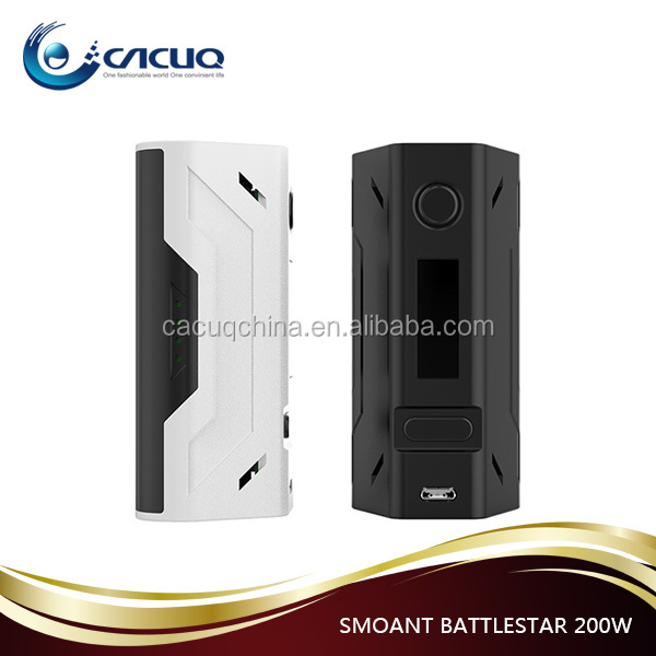 Alibaba express New arrival Smoant Battlestar 200W TC mod fast shipping