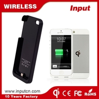 Hot sale ultra thin china wireless charger case for iPhone 5/5S/5C