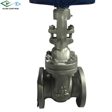 wcb flanged 6 inch stem gate valve