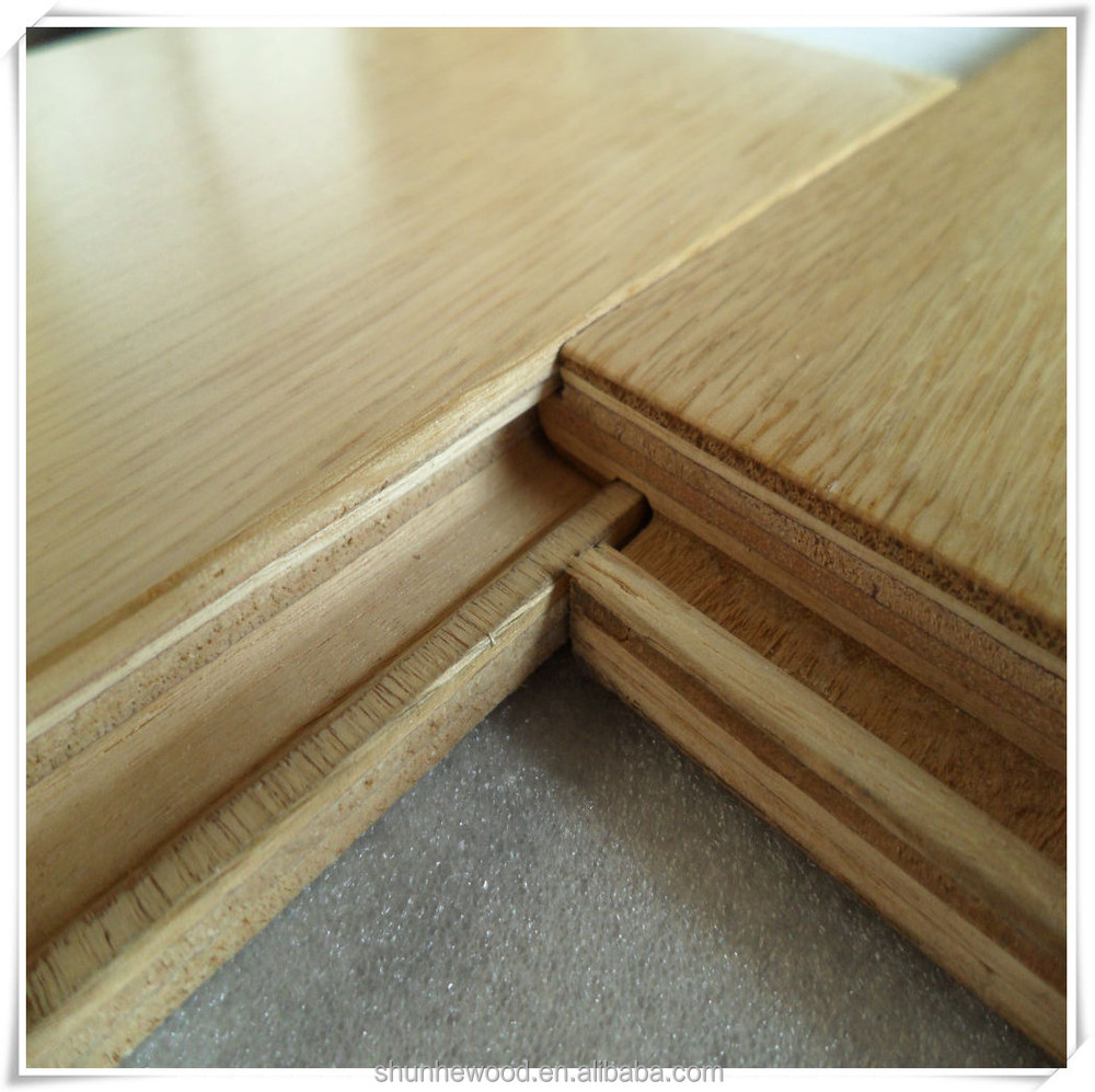 Unilin click system oak engineered wood flooring,oak flooring