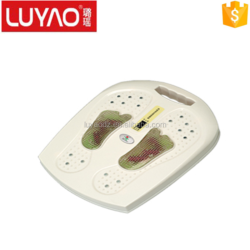 LY-602 blood circulate plastic electric foot massager