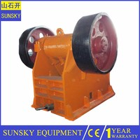 Small jaw crusher spare part , soap crusher machine for break stone
