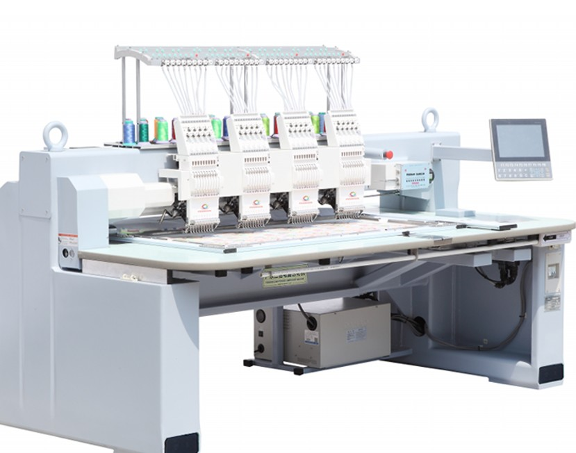 High precision hot sale digital high speed flat embroidery machine with good prices