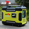 BISON China Zhejiang 2KW 12V DC Silent Rechargeable Electric Generator Portable