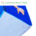 hot sale cheap custom cotton magic beach towel