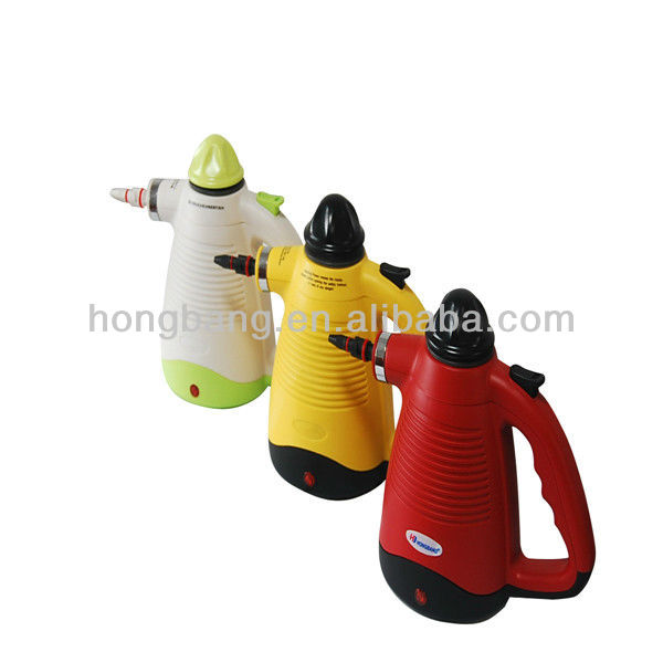 2014 powerful 5 in 1 hand handle mini steam cleaner robot as seen on TV popular in Japan CE GS ROHS certificate