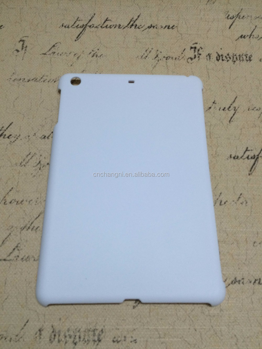 Hot selling style 3D sublimation cover for Ipad Mini 1/2/3