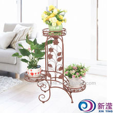 metal planters indoor Handicraft Flower Stand pot holder Garden Supplies Wholesale